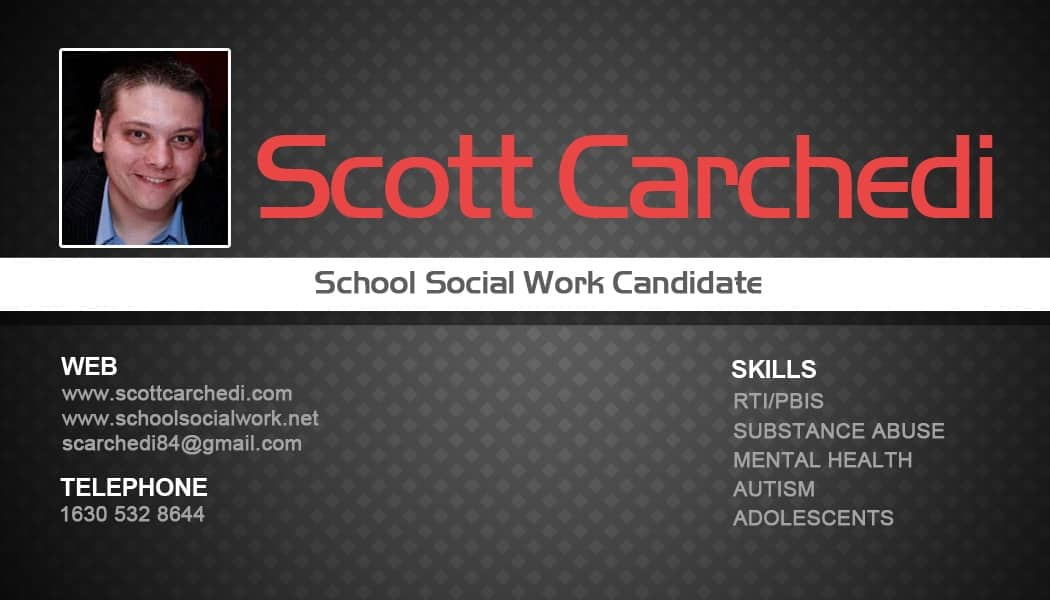 The hows and whys of student business cards school social work school social work business cards colourmoves