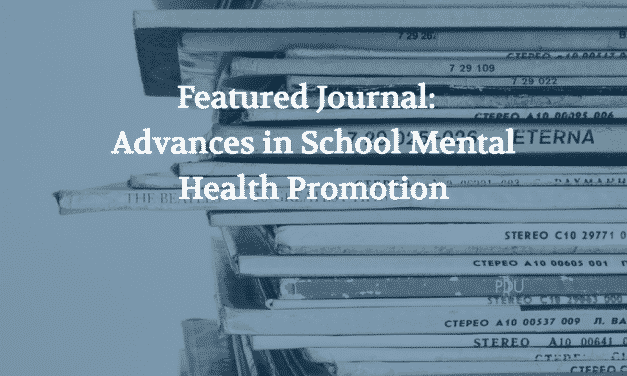 Featured School Mental Health Journal