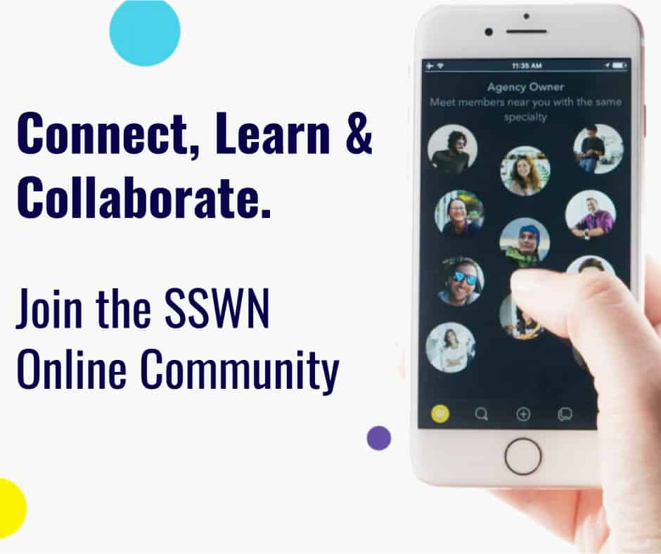 NEW: Join the SSWN Online Community