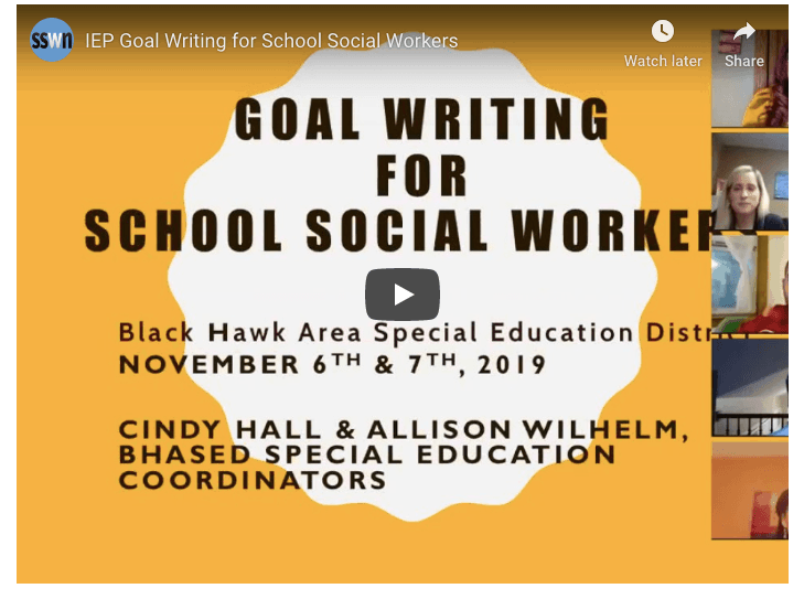 7 Components of Effective Social Work IEP Goals (With Cindy Hall & Allison Wlhelm)