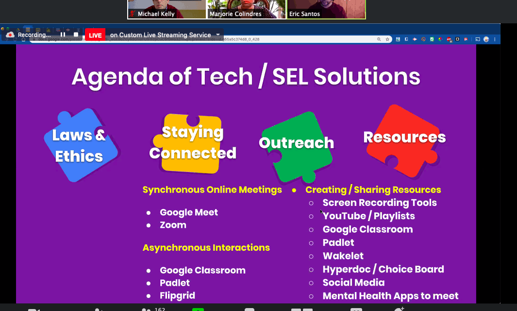 Supporting Our Kids From A Distance: Tools & Strategies To Provide SEL & SpEd Services (SSWNetwork Webinar)