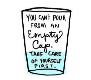 Do As I Say Not As I Do: A Self-Care Cautionary Tale During Distance Learning