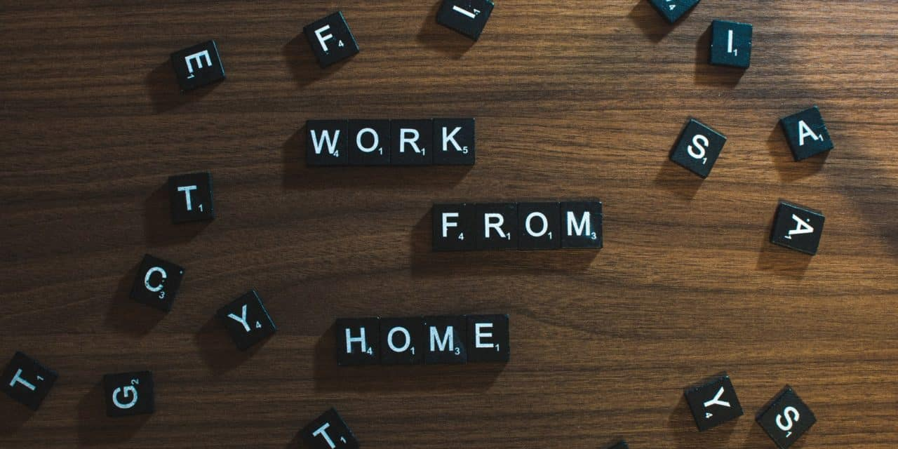 School Social Working From Home